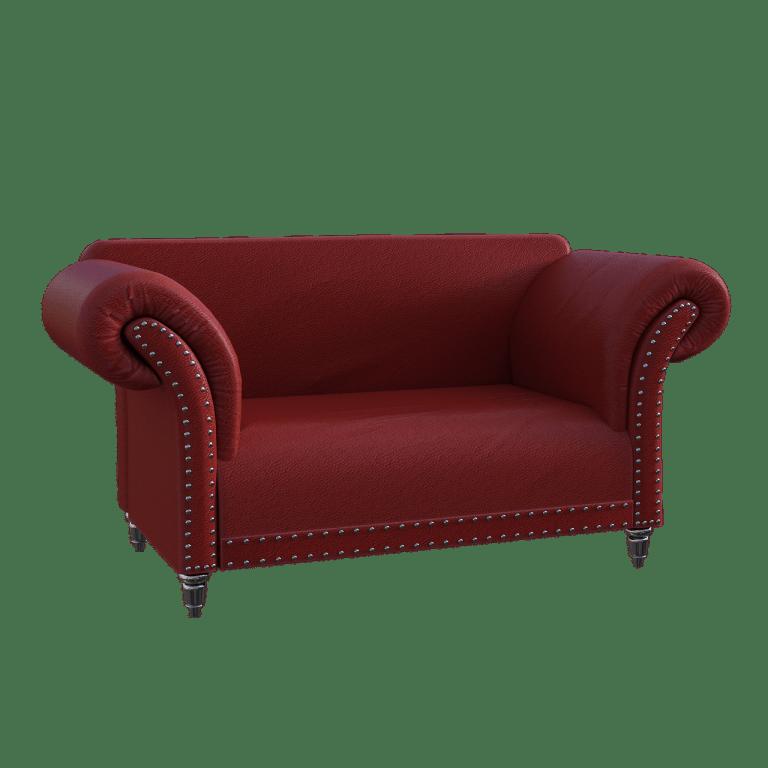 ספה בצבע שוקולד