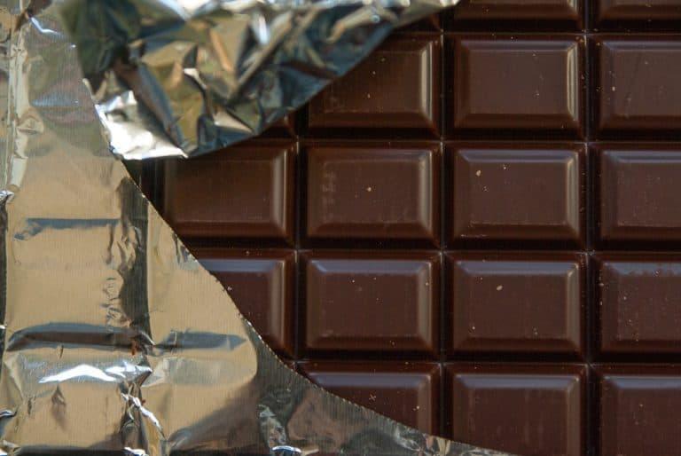 חפיסת קוביות שוקולד